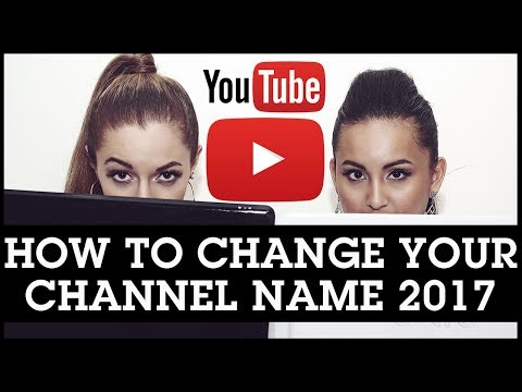 How To Change Your YouTube Channel Name 2017: From Your Google Profile Account