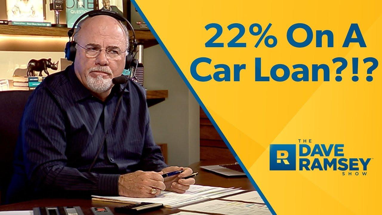 22% Interest On A Car Loan!