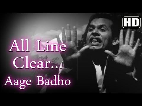 All Line Clear Aage Badho (HD) - Chori Chori (1956)- Johnny Walker - Indira Bansal-Best of 50's Song
