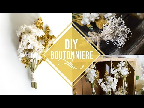 DIY Rustic Boutonnieres | More Ways to Use them!