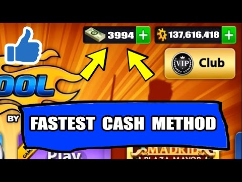 How To Get Cash In 8 Ball Pool With 1 Simple Trick - THE SMARTEST LEAGUE TRICK