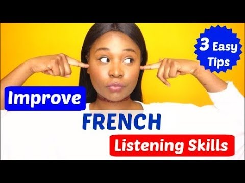 How to improve French listening comprehension