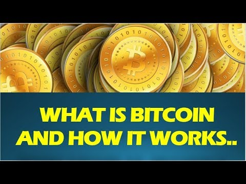 BITCOIN EXPLAINED AND HOW IT WORKS