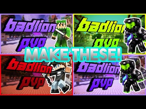 How To Make a Professional Minecraft Thumbnail With Paint.net (NO PHOTOSHOP REQUIRED AND FREE)