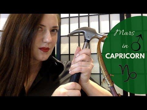 Mars in Capricorn Man or Woman
