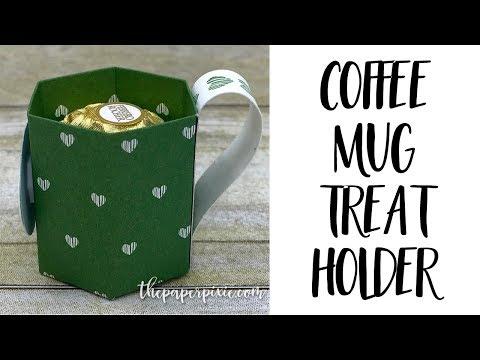 Coffee Mug Treat Holder - Facebook Live!