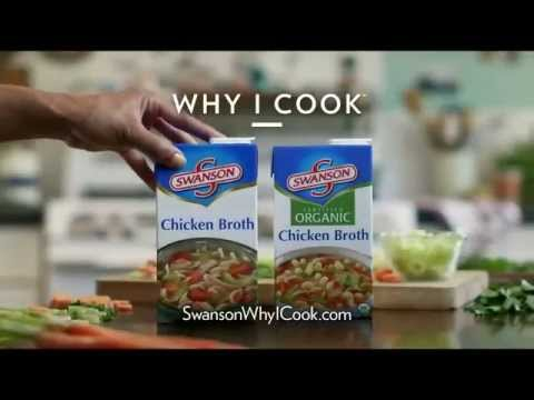 TV Spot - Swanson - 100% Chicken Broth - I Make the Best Chicken Noodle Soup