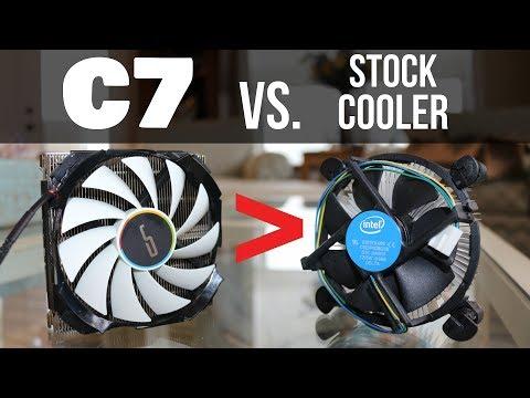 Stock Cooler Killer?! (Cryorig C7 Review!)