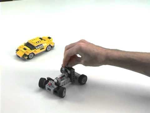 Simple Car Steering - LEGO Creator - Designer Tips