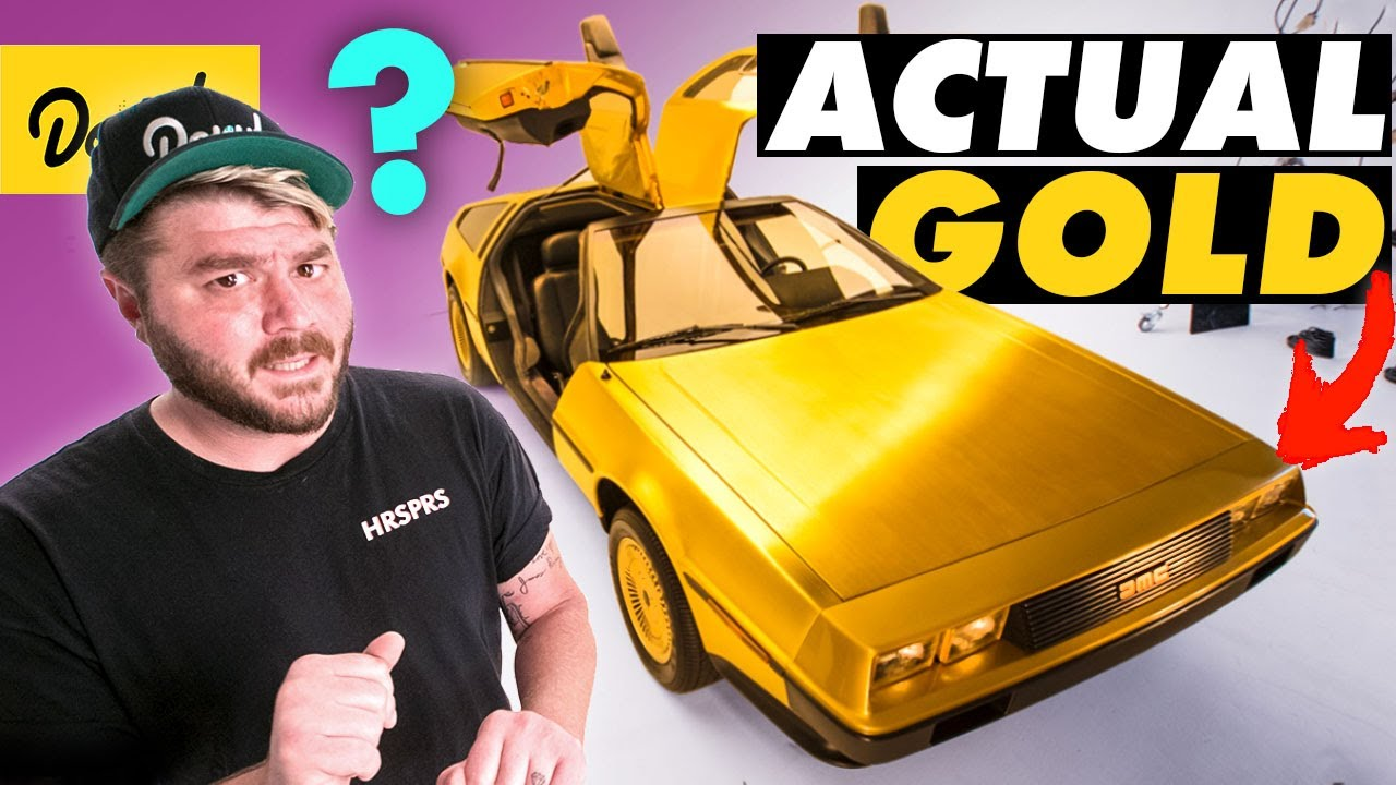 How This 24K GOLD PLATED DeLorean Became an '80s Nightmare   Bumper 2 Bumper
