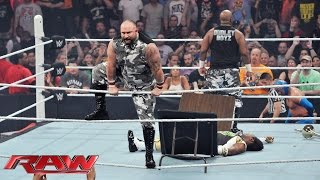 The Dudley Boyz return to WWE: Raw, Aug. 24, 2015