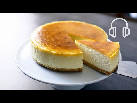 New York Cheesecake | ASMR Cooking sounds