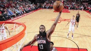 James Harden 53 Points, 17 Assists, 16 Rebounds! Tied For Highest Triple Double