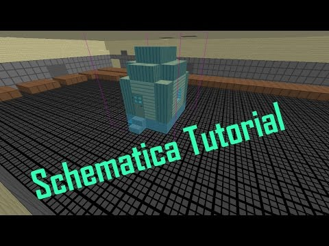 How To Install/Use Schematica In Minecraft 1.8 FORGE!
