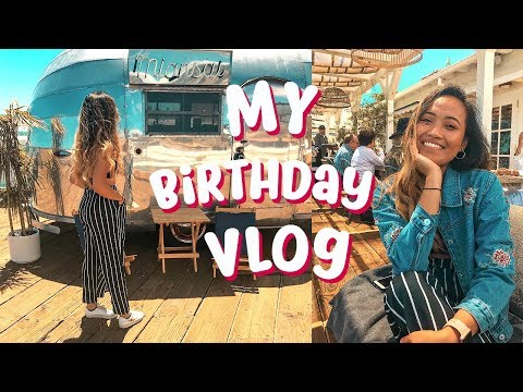 Day in the Life: My 21st Birthday! Malibu Beach & LA Trip!