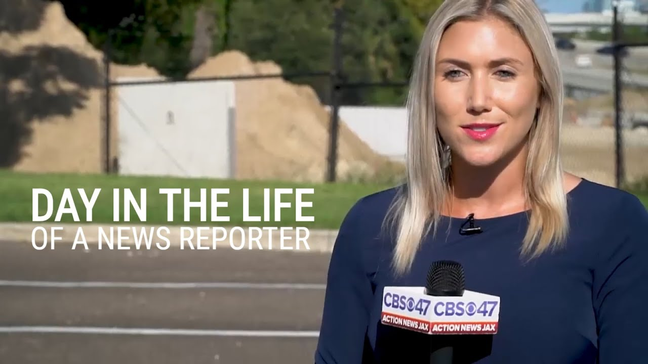 Day In The Life Of A News Reporter | Christy Turner