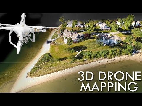 3D MAPPING with a DJI Phantom & Drone Deploy