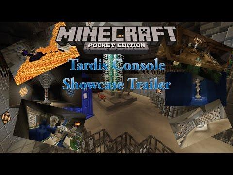 Tardis Console in Minecraft PE Trailer
