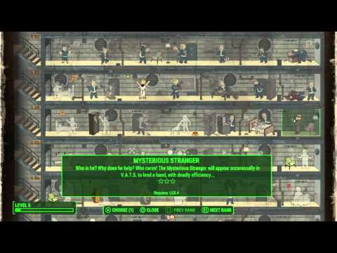 Fallout 4 - Luck Training to Level 4
