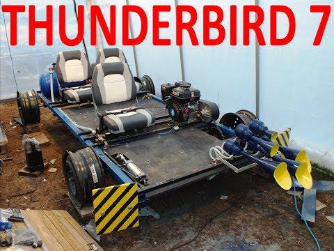 Thunderbird 7 Railroad Go Kart: Official Reveal