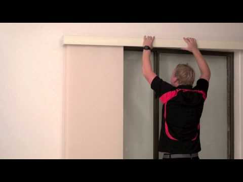 How to Install a Timber Pelmet over a Face Fit Panel Glide
