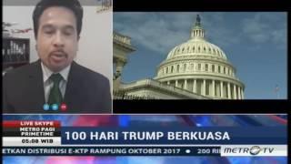 Laporan Khusus VOA untuk Metro Pagi Primetime: 100 Hari Pertama Presiden Trump