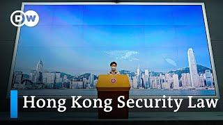 China passes controversial Hong Kong security law | DW News