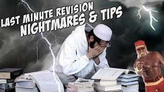 Last Minute Revision Nightmares & Tips ᴴᴰ - FUNNY - MUST WATCH