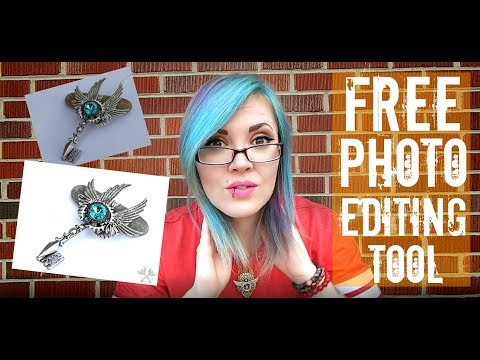 How I edit my Etsy Shop Photos for Free- Video 1
