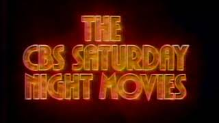 CBS Saturday Night Movies open Avalanche Express 1981
