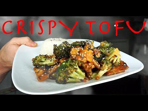 Quick + Easy Crispy Tofu Recipe