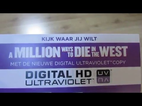 2016 NEW DIGITAL COPY CODE - A Million ways to die in the West #3