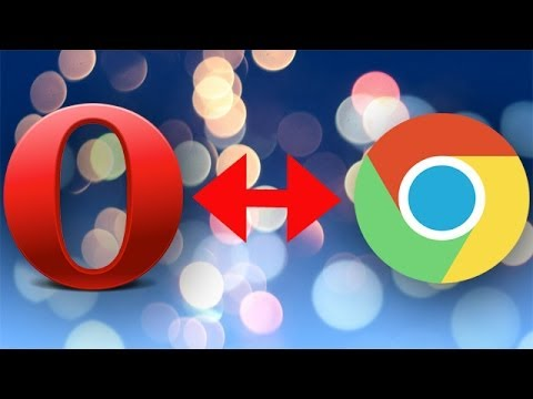 Install Chrome Extensions into Opera Web Browser.