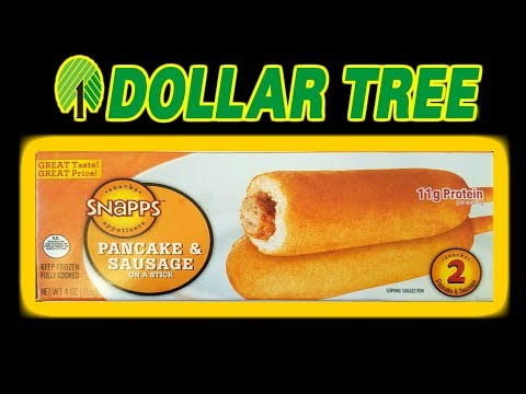 Dollar Tree Breakfast on a Stick!! - SHOCKING!! - WHAT ARE WE EATING?? - The Wolfe Pit