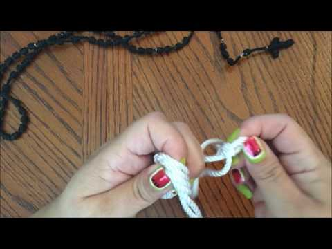 31. ASMR How to Make a Knotted (Cord) Rosary