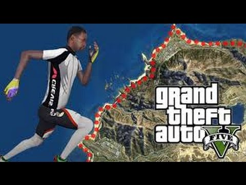 GTA 5 TIMELAPSE RUNNING AROUND MAP!!!!!!! (Re-upload)