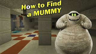 How to Find a MUMMY | Minecraft PE