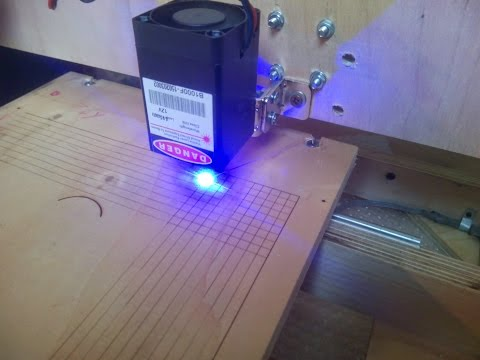 DIY - CNC 1 Watt laser engraver (Arduino + GRBL + Pololu A4988)