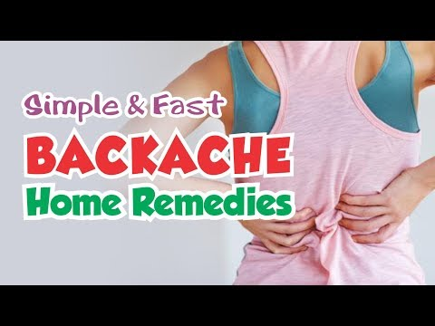 Natural Home Remedies to Get Rid of Backache FAST