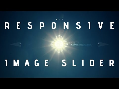 Responsive Image Slider. Watch How to Create it from Scratch.