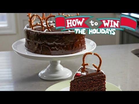 Chocolate Reindeer Cake | Food Network