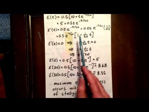 9 exponential function: optimization word problem