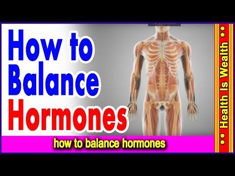 हार्मोन्स में कमी होने से होने वाले लक्षण और उनके घरेलु उपाय - how to balance hormones