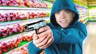 Robbing A Super Market! | I