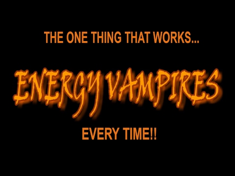 ENERGY VAMPIRES?? | HOW DO I STOP ENERGY DRAINERS?? HELP!!!! USE THESE SECRETS - ALWAYS!!!