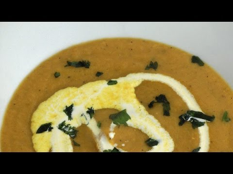Easy Soup Recipes - Spicy Parsnip and Carrot Soup Recipe
