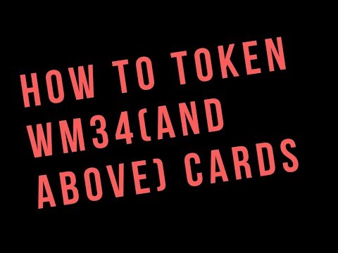 How To Token Wrestlemania 34 Tier and Up Cards - WWE Supercard Tutorial