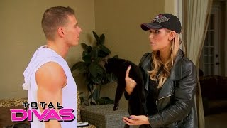 Natalya takes in 18 foster cats at her home: Total Divas Preview Clip: July 28, 2015