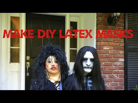 www.monstertutorials.com - How to make a latex mask tutorial