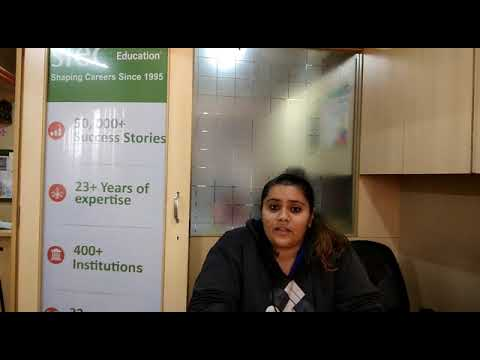 Student Testimonial after getting Visa for Study Abroad through SIEC Pune   Study Abroad